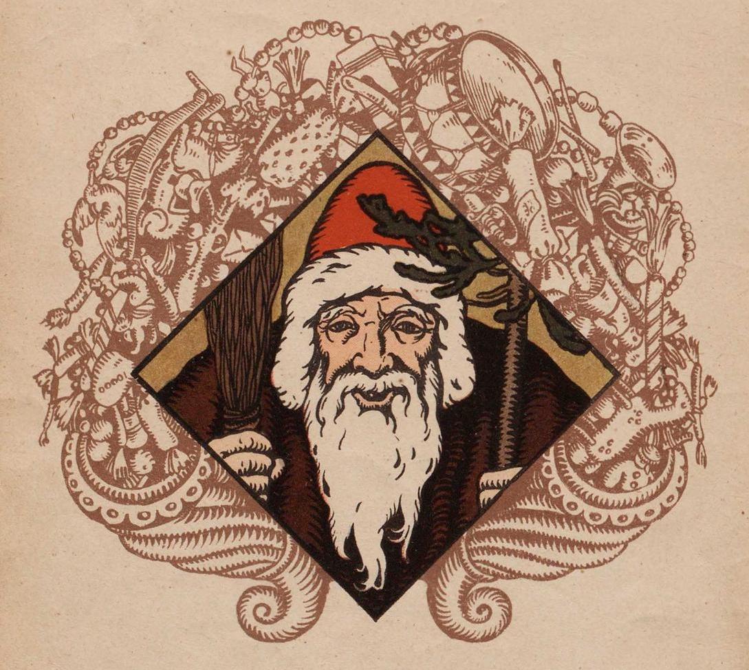 Иллюстрация из книги «Рождественский дед» (1917)