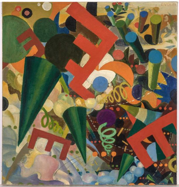 Юлиус Эвола, «Праздник». Около 1918 г.