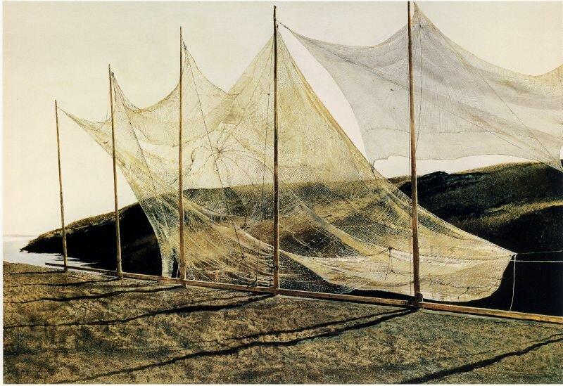 «Троицын день», 1989, темпера, панель| Частная коллекция