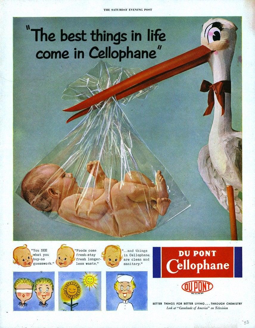 Реклама целлофана, 1953