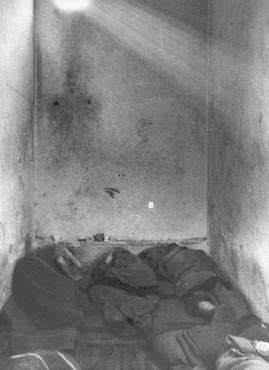 Внутренний вид камеры в одной из албанских тюрем, фото 1947 года