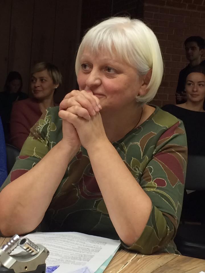 """Наталья Попова, психолог, режиссер, руководитель интегрированной театральной студии """"Круг"""""""