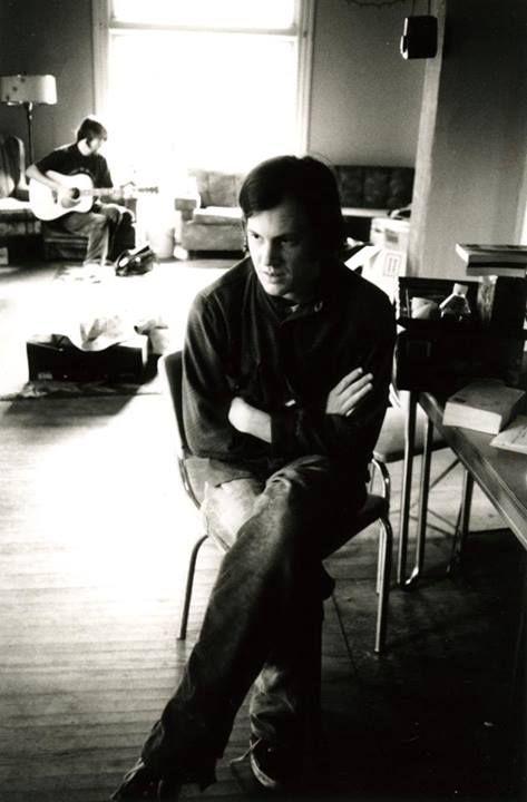 Джефф Мэнгам и Брайан Пул во время последнего тура Neutral Milk Hotel перед распадом, 1998. Фото: Лэнс Бэнгс. Взято из tu