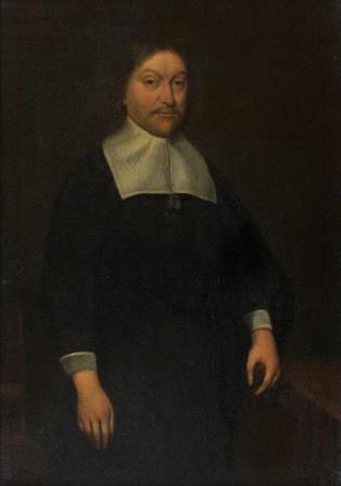 Герард Терборх младший Мужской портрет Голландия, XVII в. Холст, масло. 42×29 см БСИИ ASG, инв. №02-2040