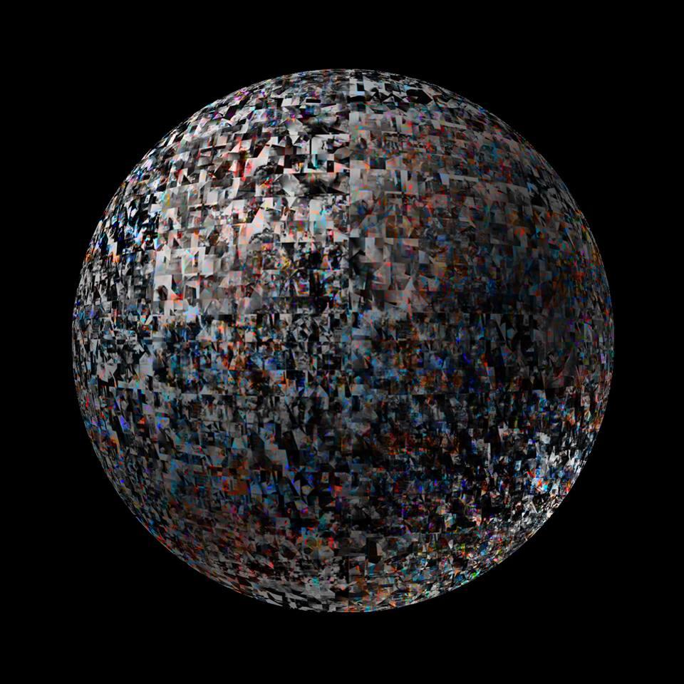 Планета из 4086 граней.