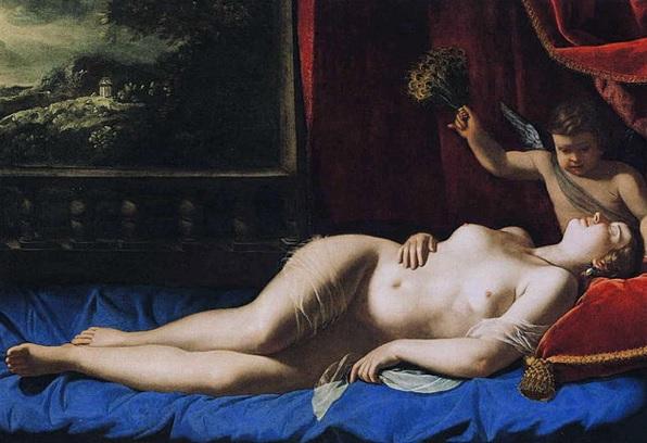 «Спящая Венера», барокко, 16 век. Картина хранится в собрании Виргинского музея изобразительных искусств
