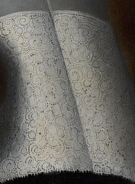 Люттихейс, Исаак. Юноша с перчатками (1661), фрагмент. Холст, масло. 93,5х72 см. Национальный музей, Стокгольм