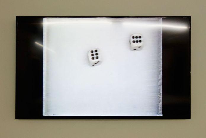 Claude Closky. Double six (1994)