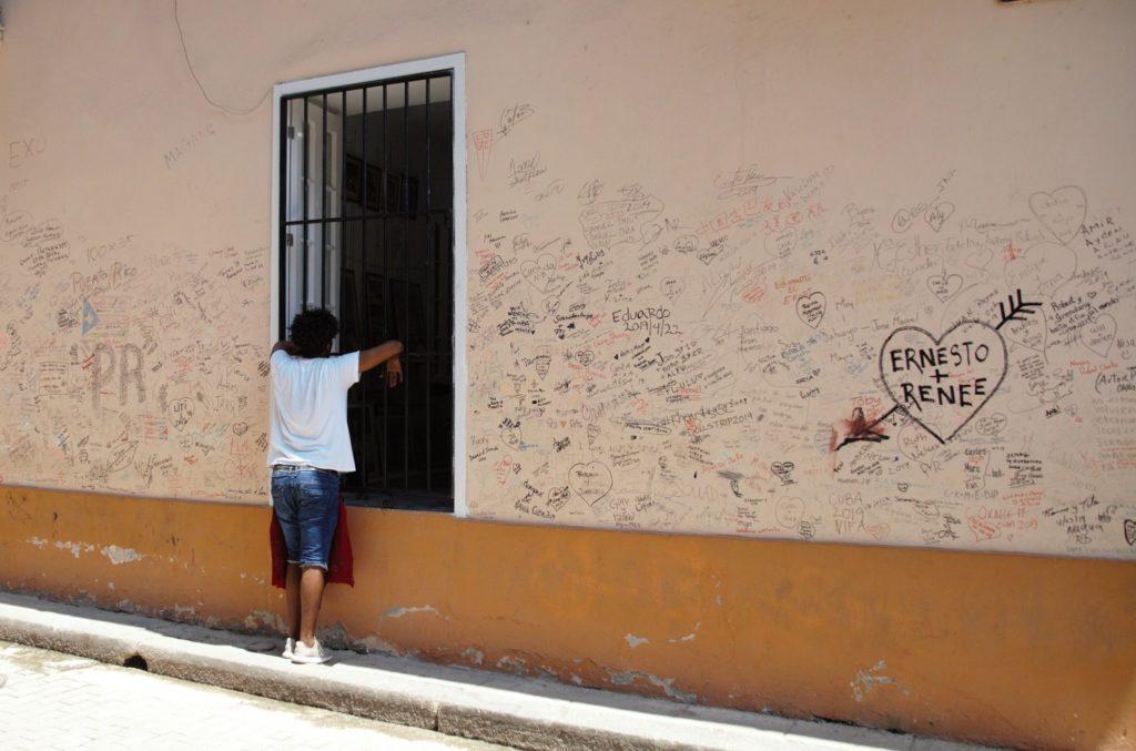 Гавана — город неспешных речей и амурных интриг. Фото автора