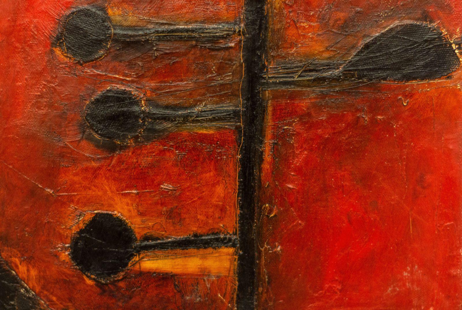 Вадим Михайлов. Фрагмент диптиха «Красное офисное кресло»
