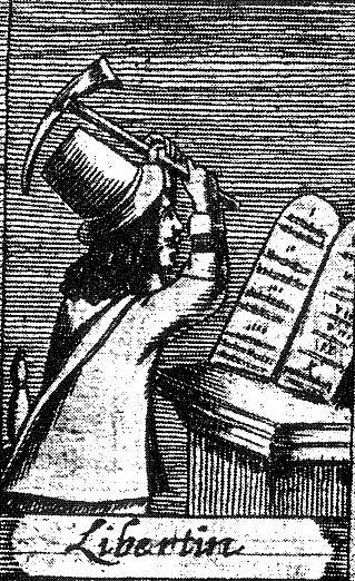 Либертин в английском каталоге ересей