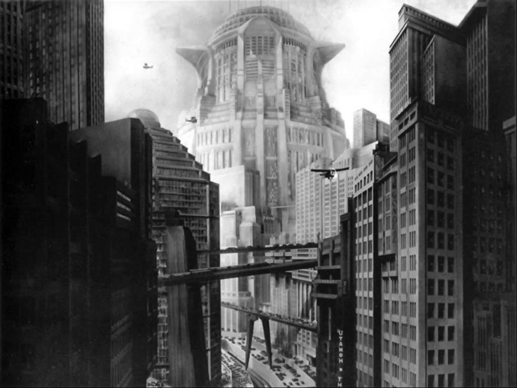 Кадр из фильма «Метрополис», 1927