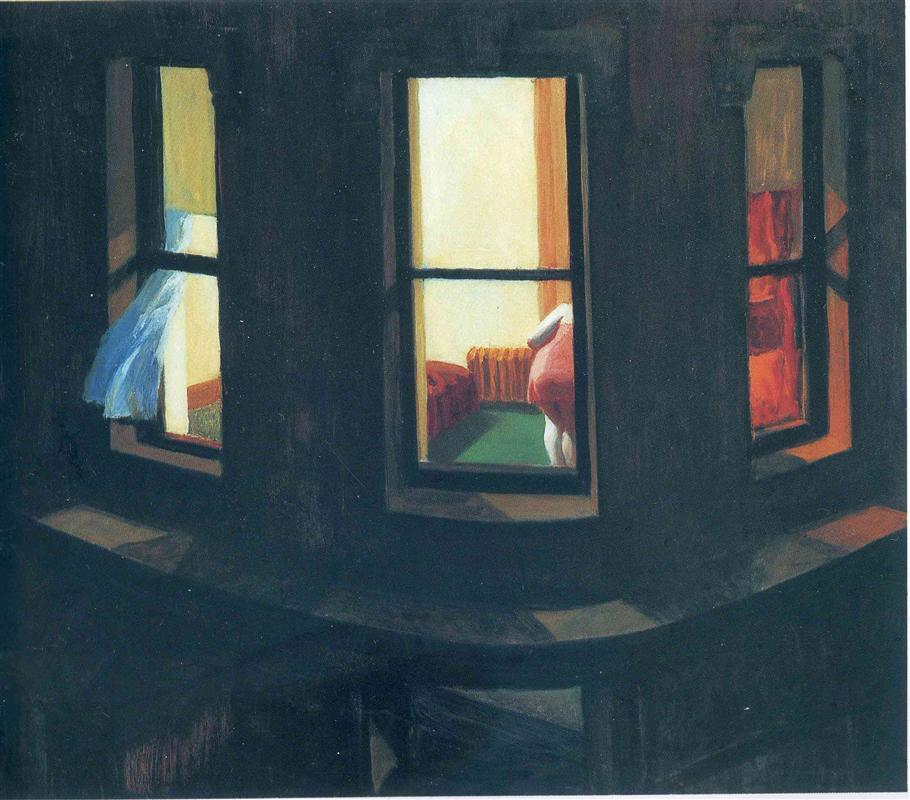 Night Windows. 1928, ныне в коллекции Музея современного искусства, Нью-Йорк.