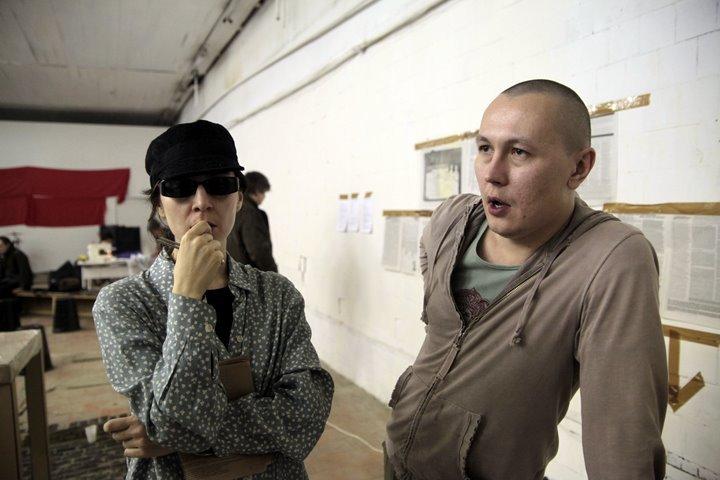 <b>Кети Чухров</b> и <b>Антон Очиров</b> на запуске серии *kraft на <b>Майском конгрессе творческих работников</b>