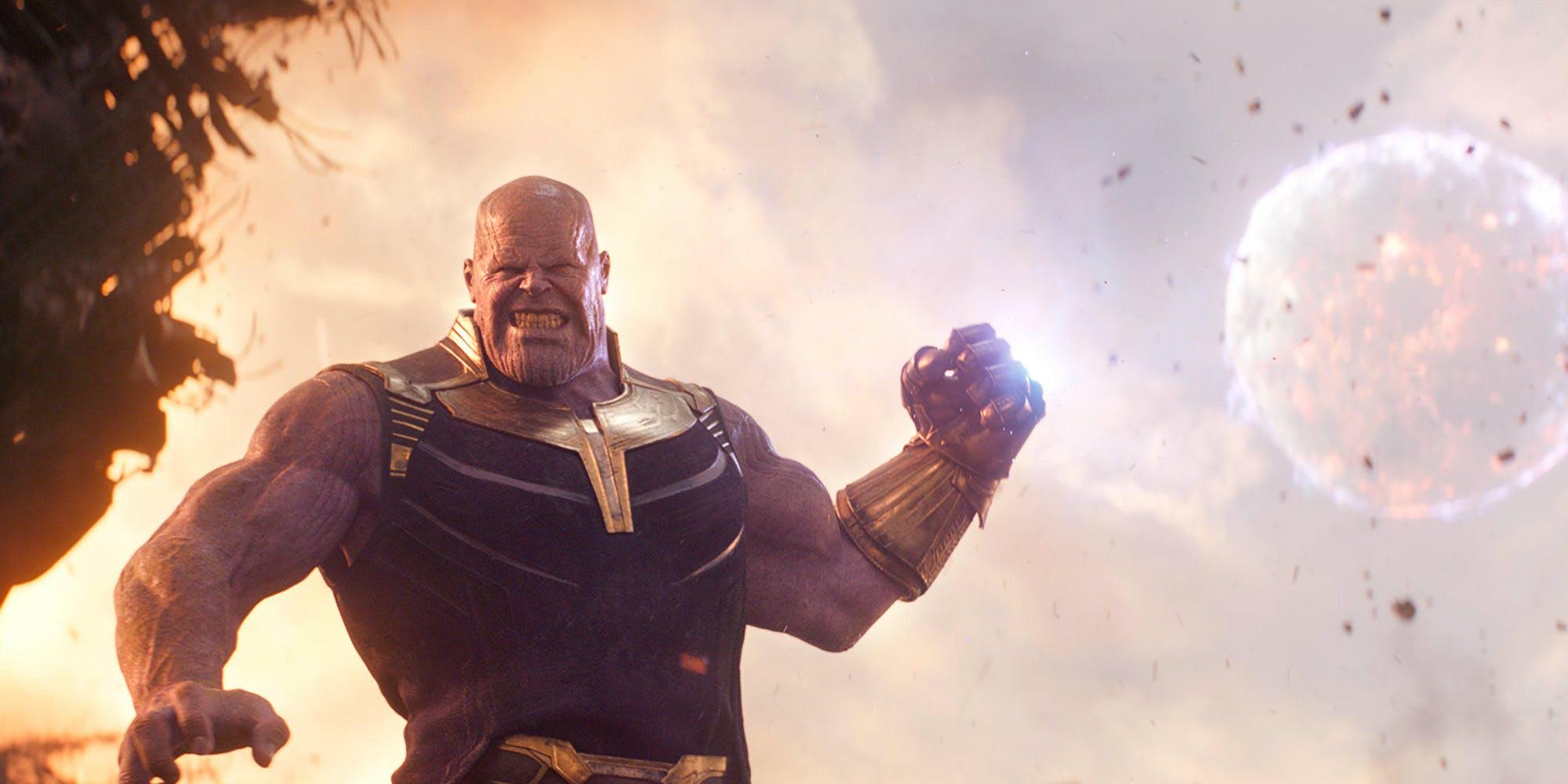 Кадр из к/ф «Мстители: Война бесконечности»
