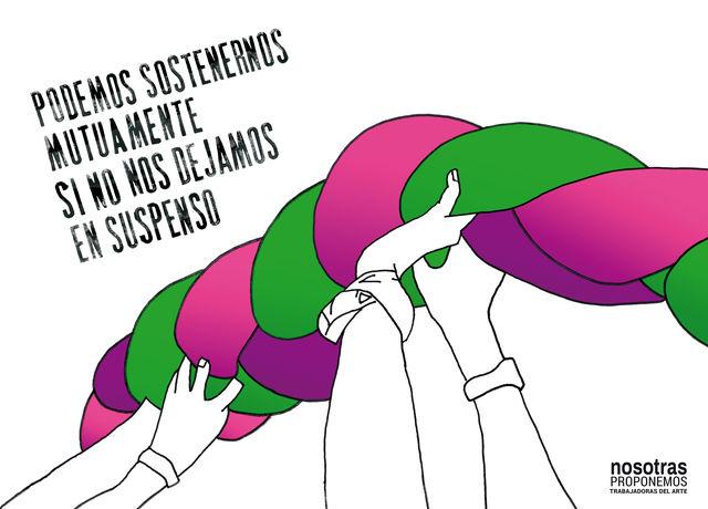 Artwork byNosotras Proponemos, Women's Plurinational Meeting| Encuentro Plurinacional de Mujeres, 2019. From:artsy.net