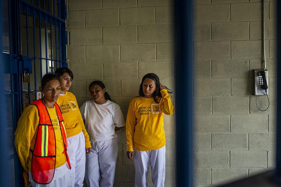 Эвелин дель Кармен Санчес Кабрера (32), Кения Изабель Эрнандес (24), Жаклин Нохеми Кастильо (31) и Сальвадор Каролина Диа