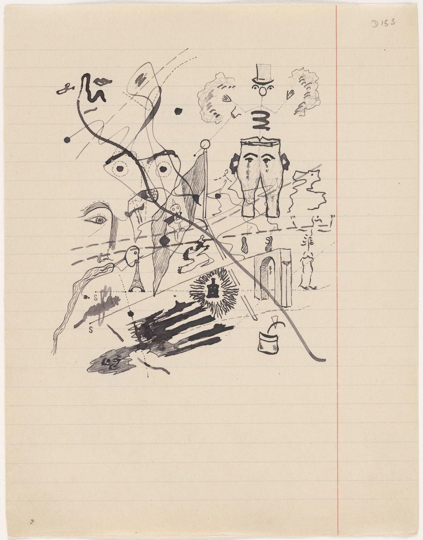 Ещё один из рисунков Жоржа Батая