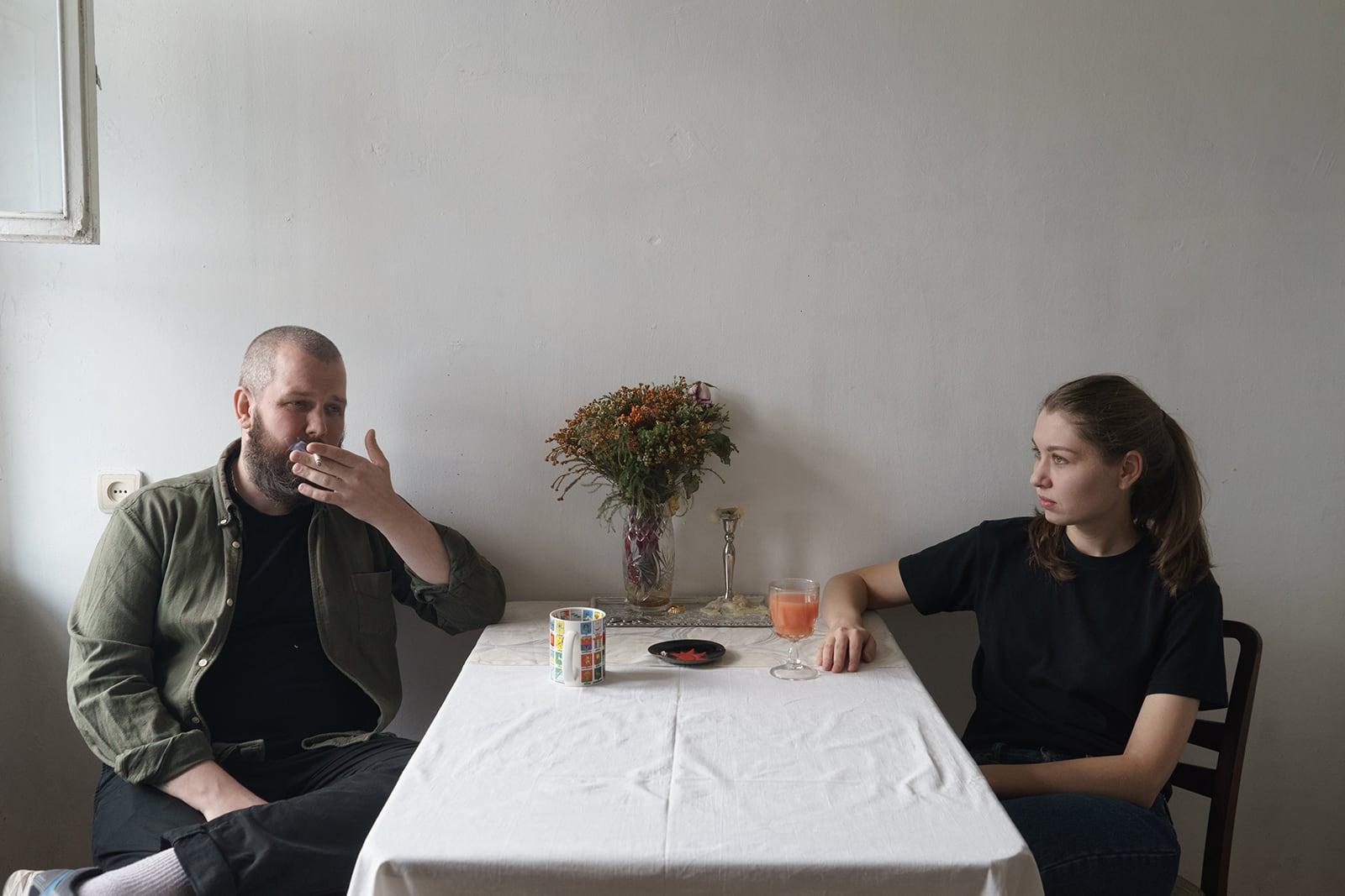 Виталий Безпалов и Наталья Серкова (фото: Жанна Татарова)