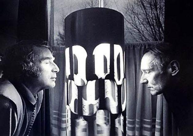 Брайон Гайсин и Вильям Берроуз видят сны.