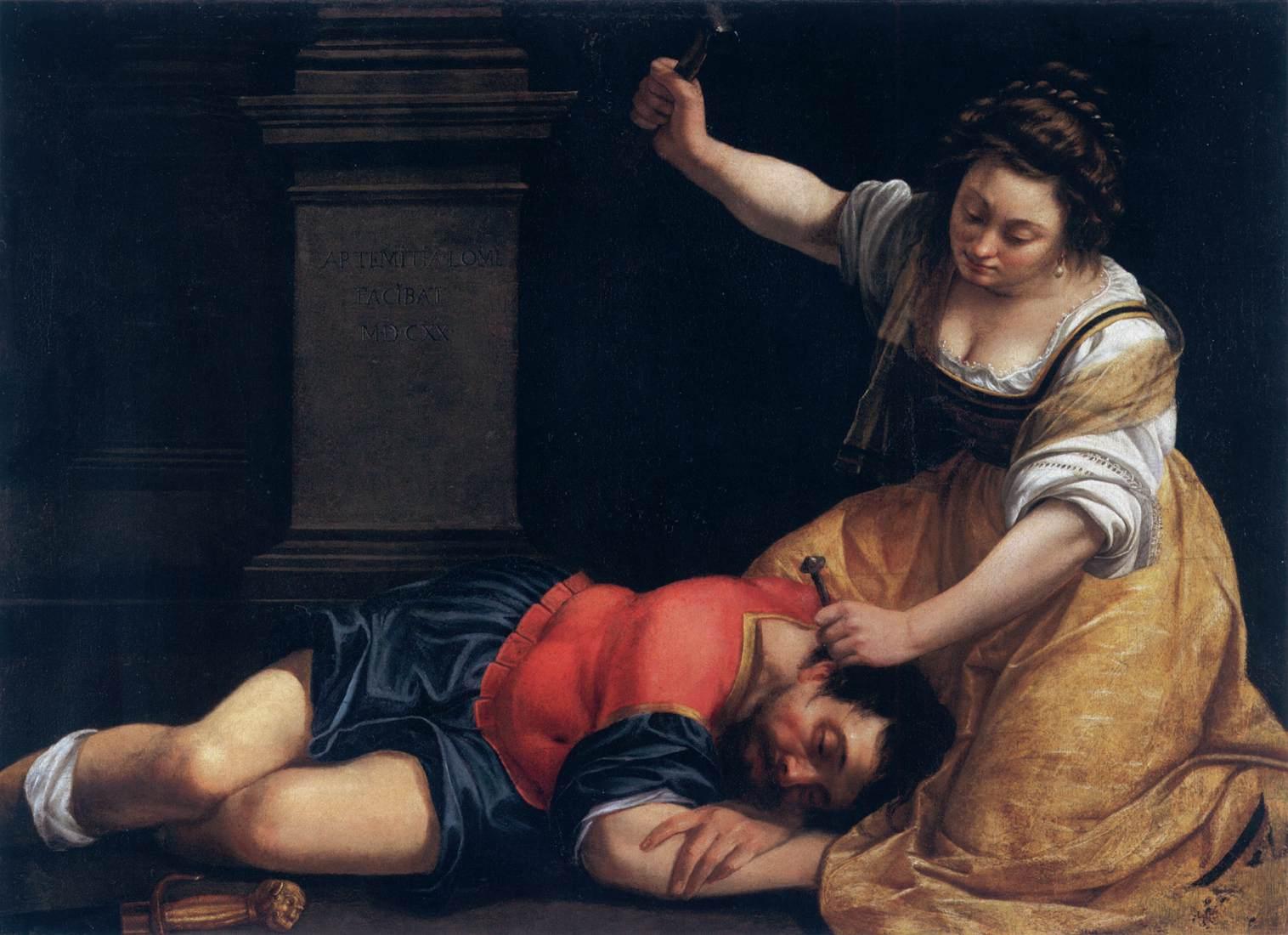 Артемизия Джентилески «Иаиль и Сисара», ок. 1620