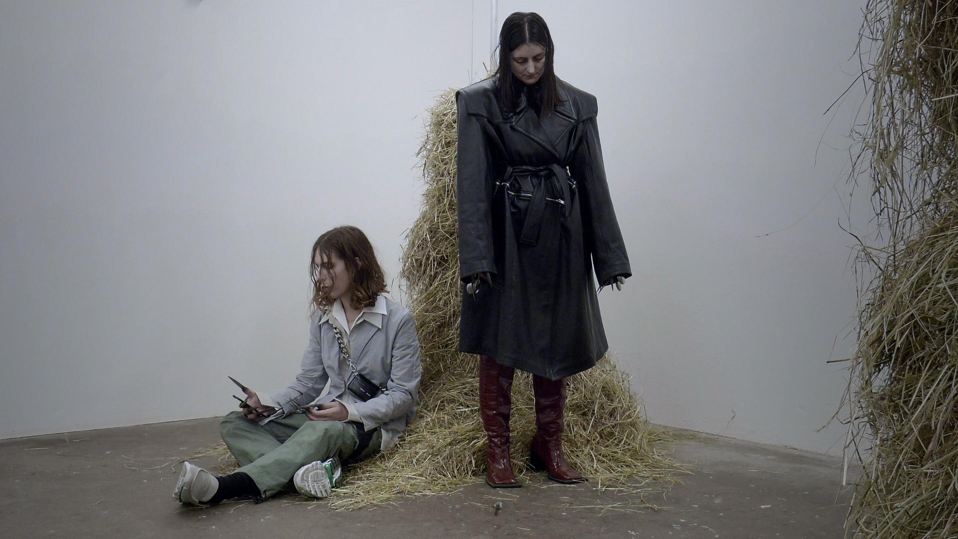 Dorota Gawęda and Eglė Kulbokaitė, Mouthless Part I, 2020. Video, 45:36