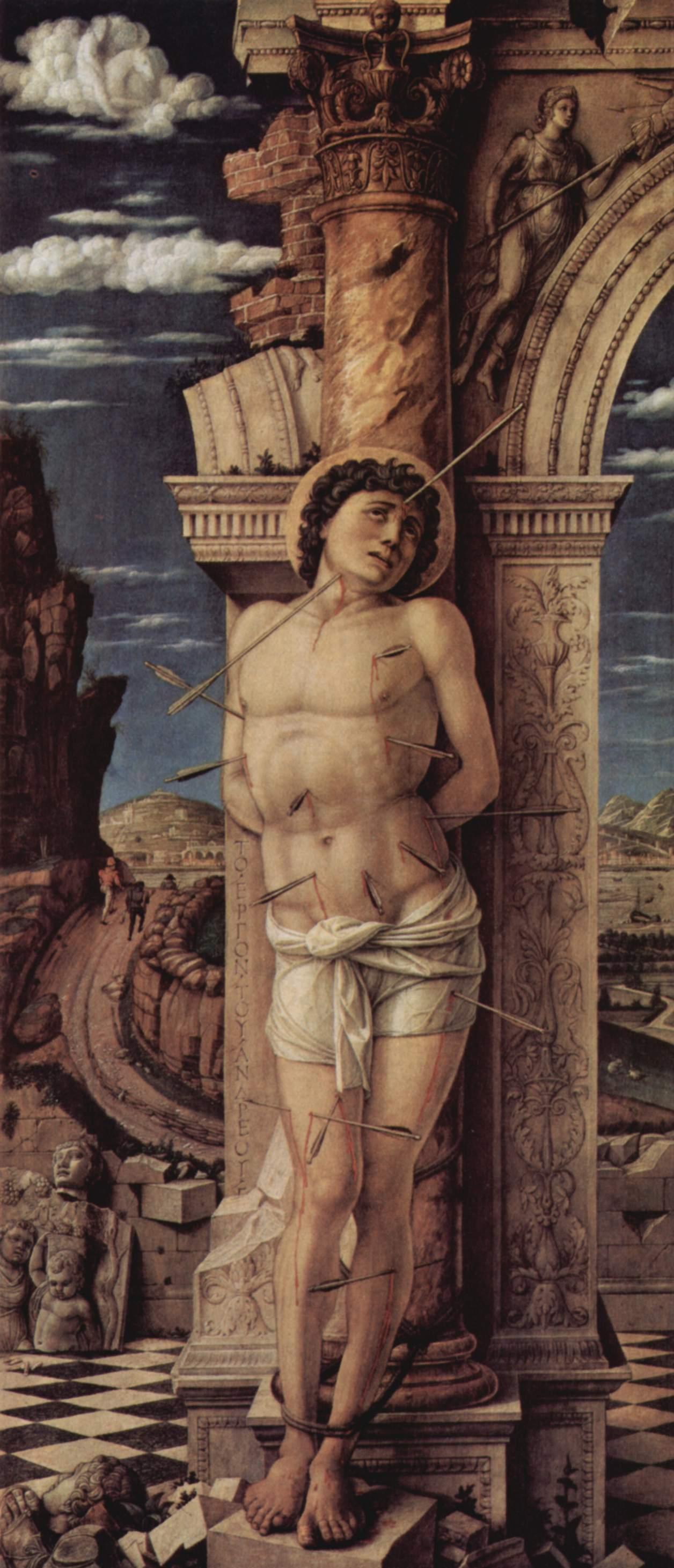 Андреа Мантенья, «Святой Себастьян», 1457-58 гг.
