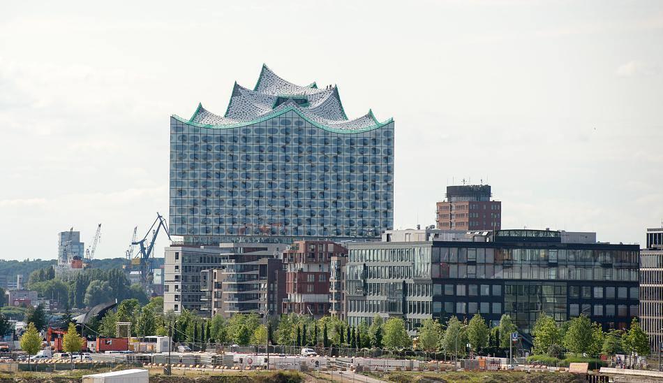 Эльбская филармония, Гамбург. Herzog & de Meuron