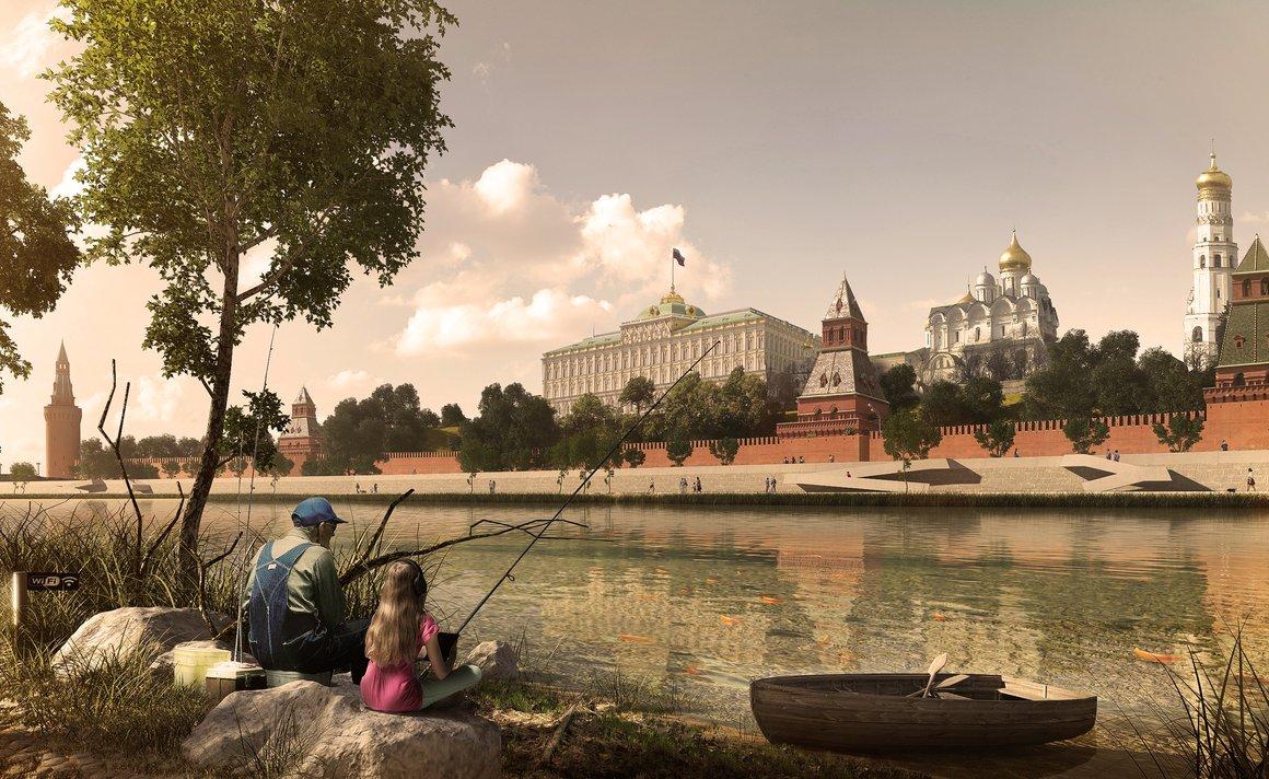 *Меганом* Москва-река. Порты Будущего. Развитие прибрежных территорий Москвы-реки, конкурс, 2014