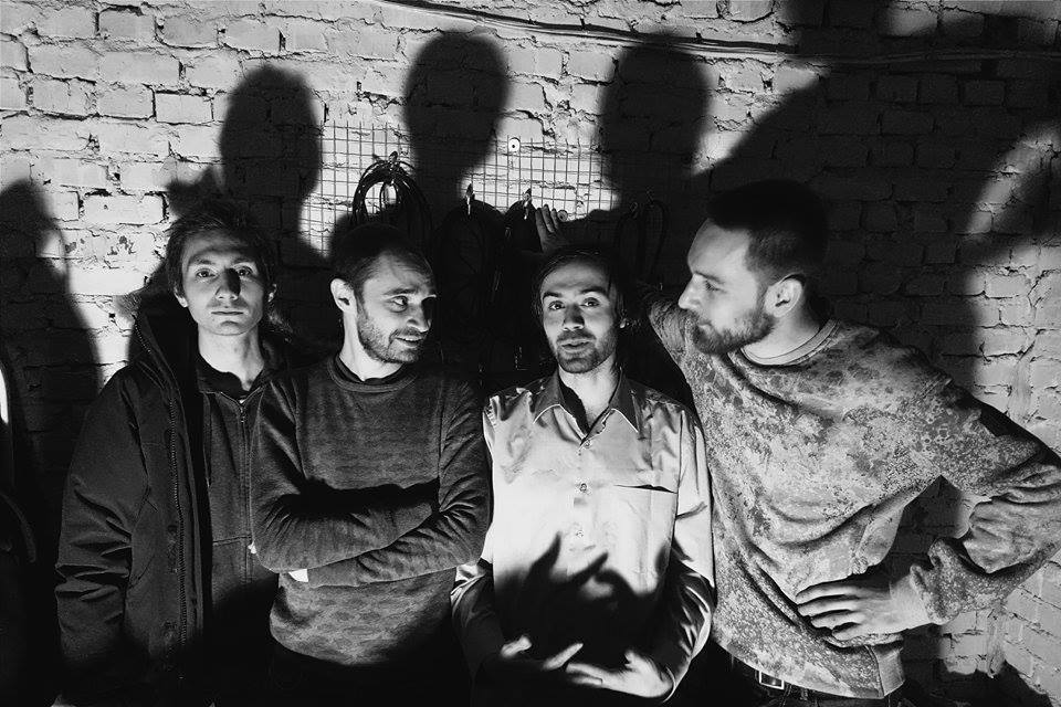 """ТОПОТ"" (слева направо): Иван Якушев, Евгений Галочкин, Константин Сухан, Дмитрий Кузовлев"