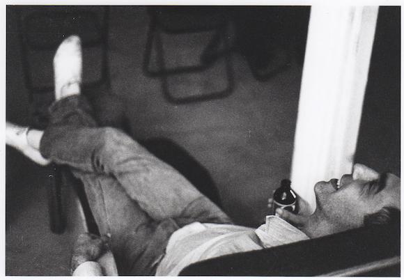 Дерек Джармен в студии (1979/80 гг.)