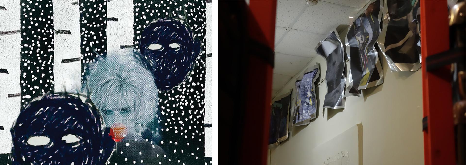 Арт-группа BERTOLLO. АУ-У-У. Арт-объект из серии «Горящие туры». Фото: Елена Бертолло.
