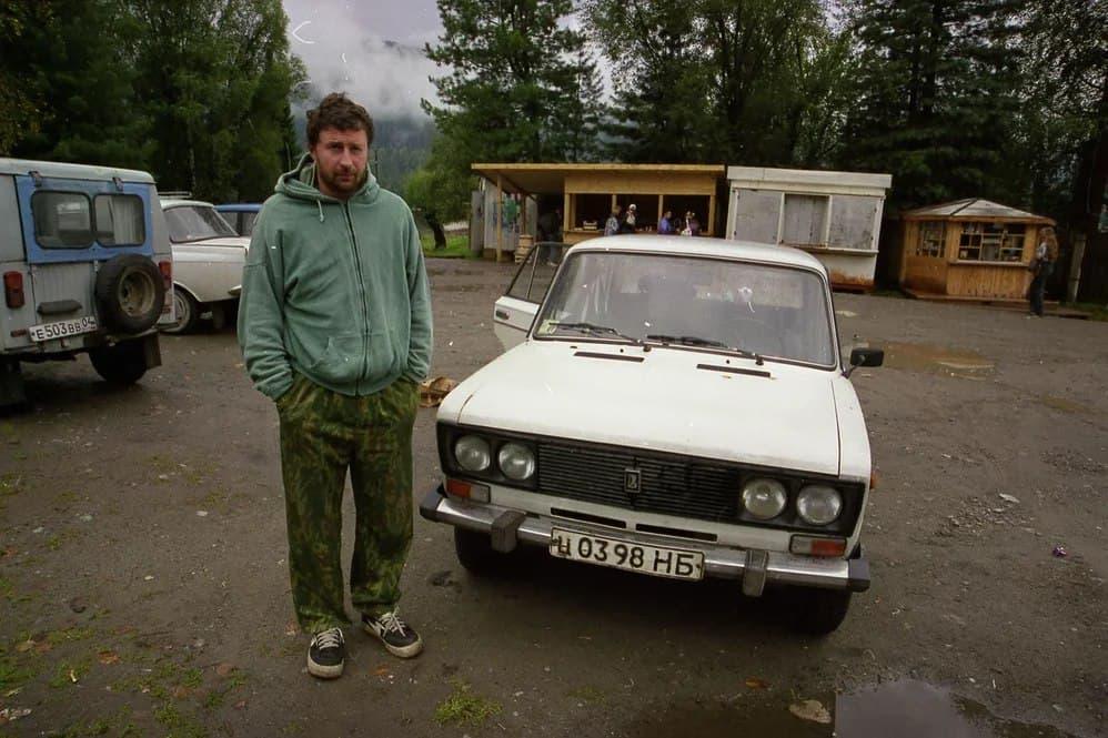Вячеслав Мизин, 2000 год. Фотография представлена Евгением Ивановым