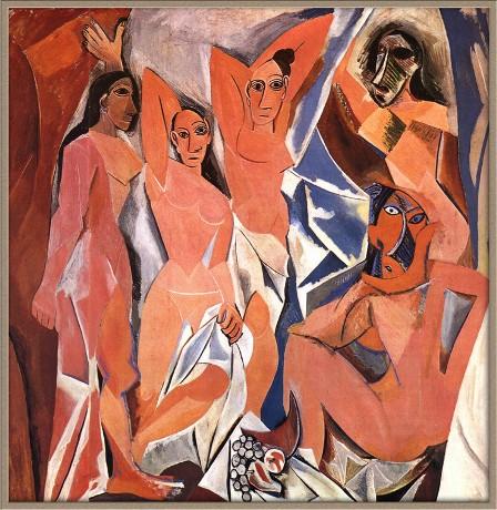 Пикассо. Авиньонские девицы