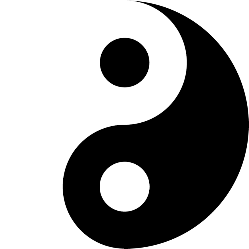 Рис. 1. Графическая дихотомия: фокус в том, что здесь нарисован только черный подкласс, а белый, совершенно не будучи нар