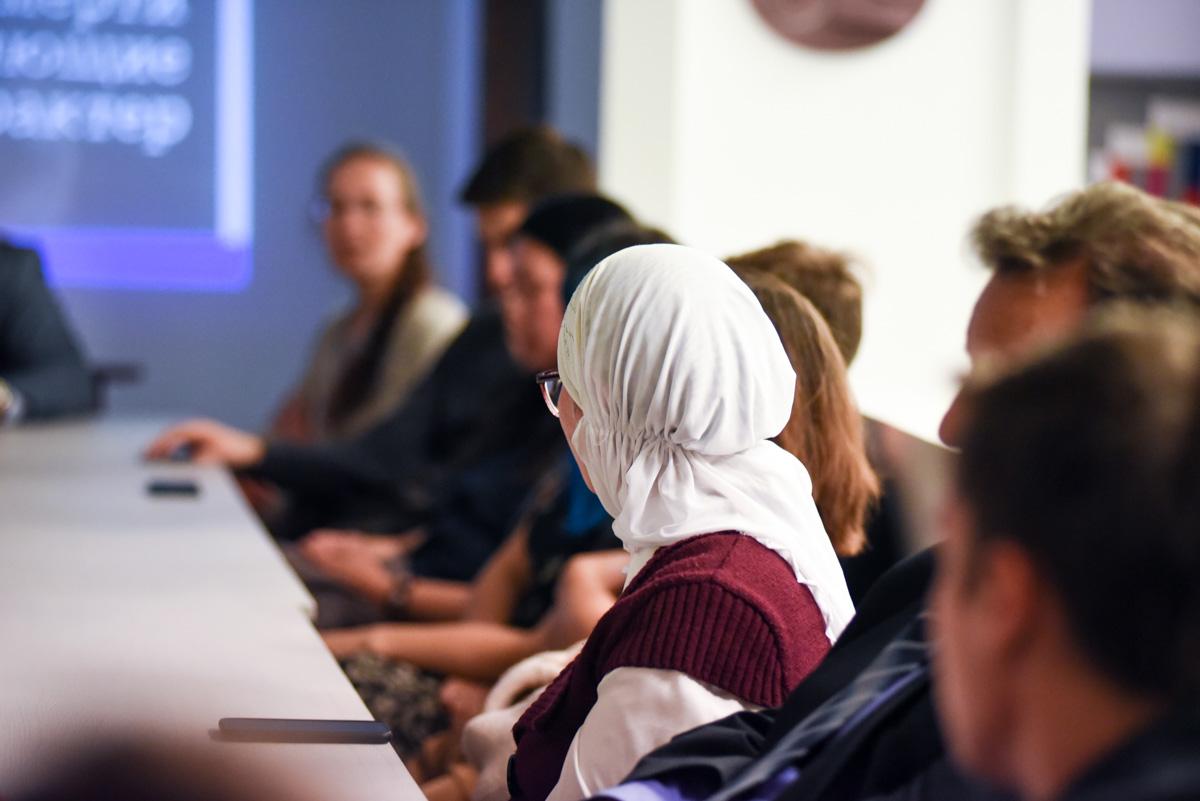 Ридинги с участием представителей нацменьшинств, 5-я УИБСИ, 2019 год.© Ксения Попова