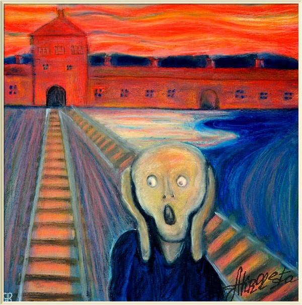 <i>Предчувствие Эдварда Мунка или Портрет 20-го века</i>