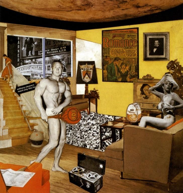 «Что делает наши сегодняшние дома такими разными, такими привлекательными?» (Ричард Гамильтон, 1956)