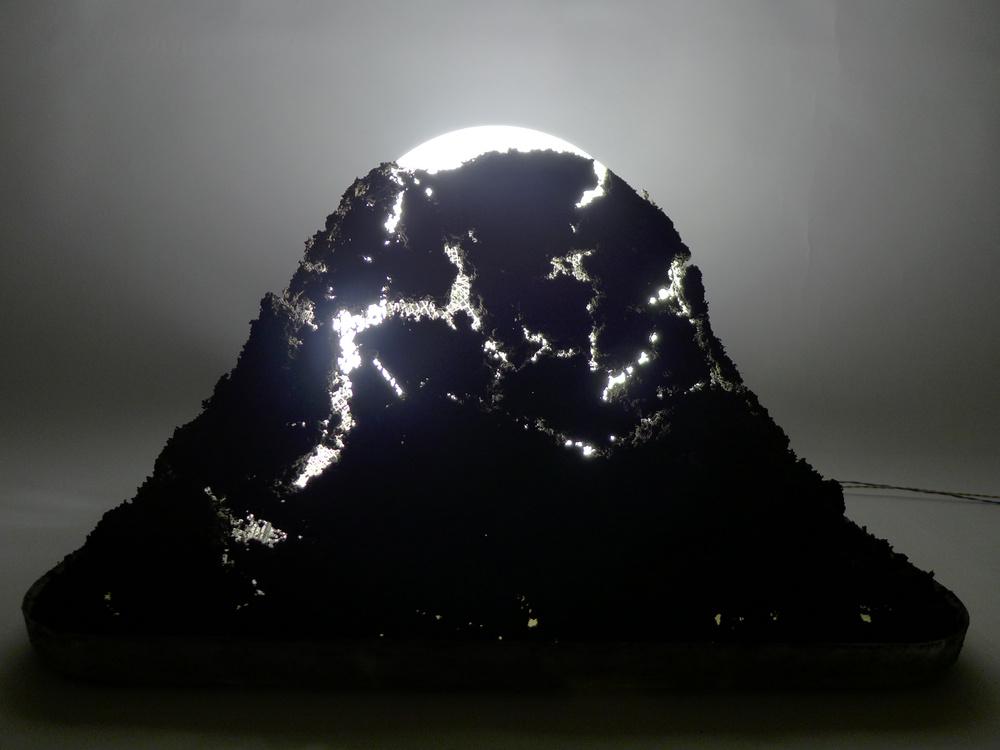 MILD LIGHT, soil, fluorescent lamp, sizes range. 2012