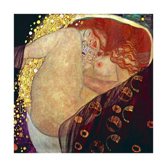 Густав Климт. Даная. 1907-1908