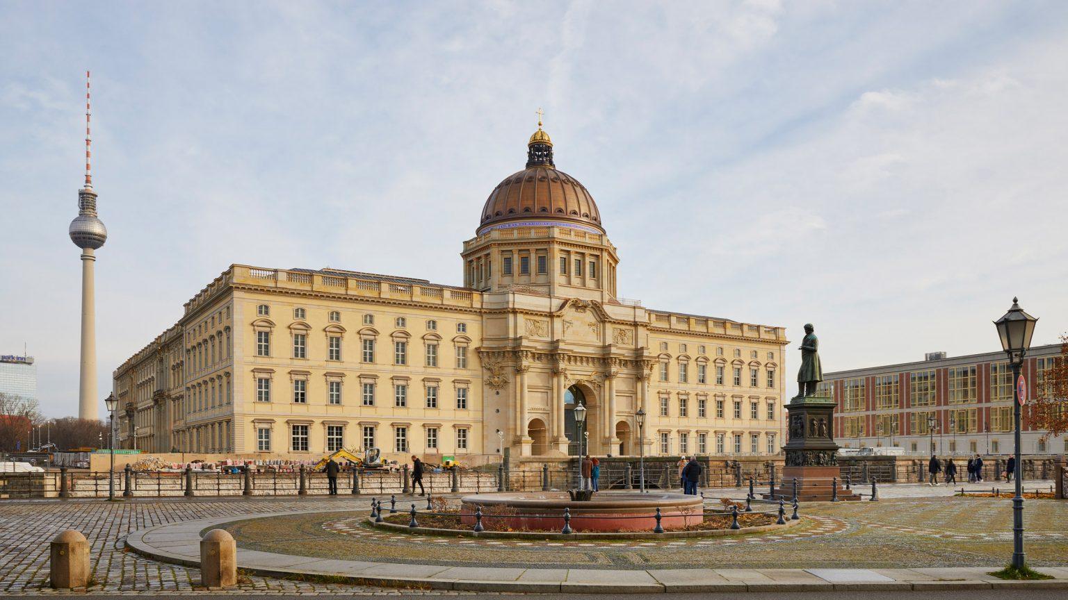 Форум Гумбольдта. Восстановленный исторический фасад