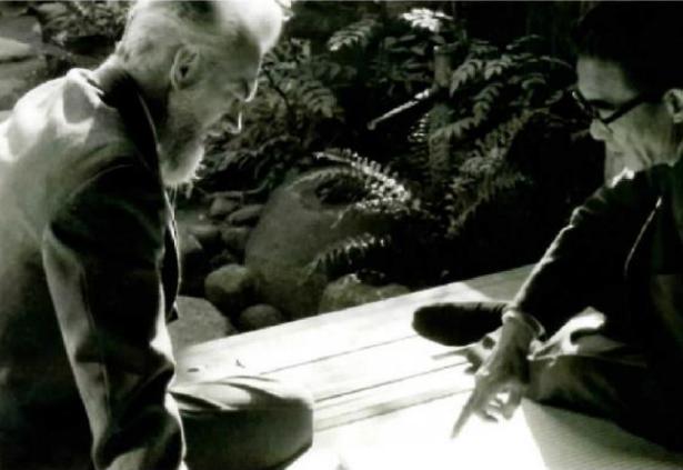 Дзиро Йосихара и Пол Дженкинс. 1964 год. Courtesy:https://tinyurl.com/s72bhpk