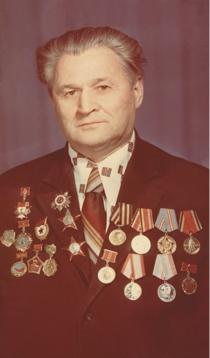 Владимир Иванович Нефёдов (1920–1988). Ветеран 2 гвардейской армии. Кавалер двух орденов Красной звезды, двух орденов Оте