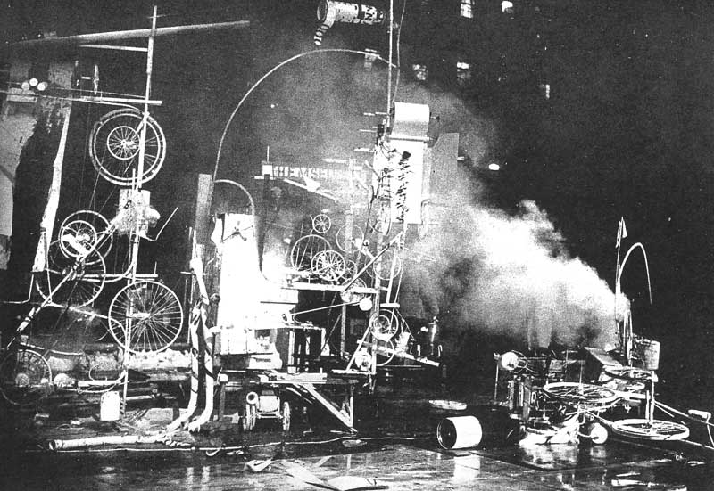 Жан Тэнгли. Homage to New York. 1960