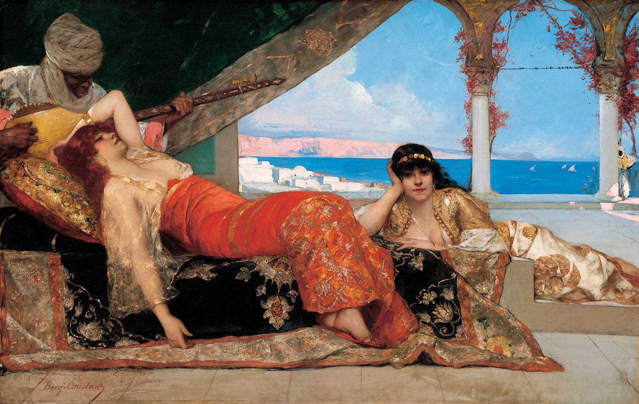<i>Жан-Жозеф Бенжамен-Констан. Фаворитка эмира, 1879.</i>