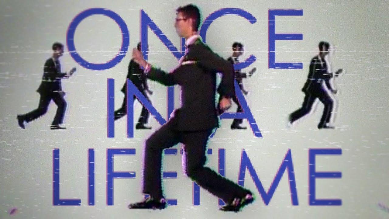 Кадр из документального фильма про очень популярную песню группы Talking Heads