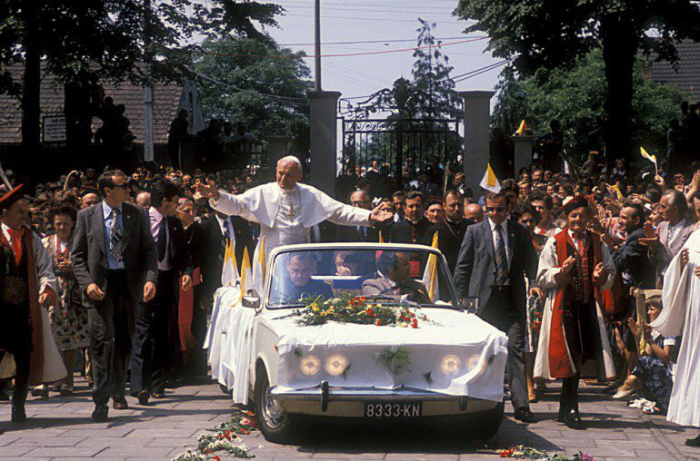 Папа Иоанн-Павел II в Польше. 1979 год