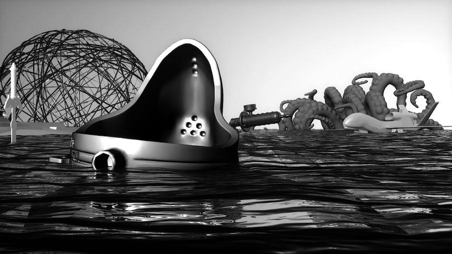 Морешин Аллахьяри и Даниель Рурк.The 3D Additivist Manifesto. 2015 год
