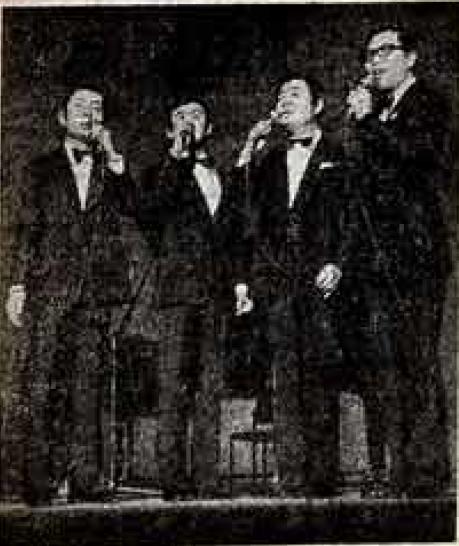 <b>Дарк Дакс с выступления в Москве. Советская культура (24 августа 1972). Фото В. Князева.</b>