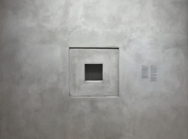 Taryn Simon, Black Square XVII, In the year 3015, approximately one thousand years after its creation, a black square mad